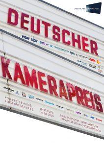 Plakat Deutscher Kamerapreis 2019